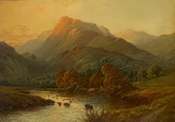 Alfred Fontville de Breanski Cade Idris