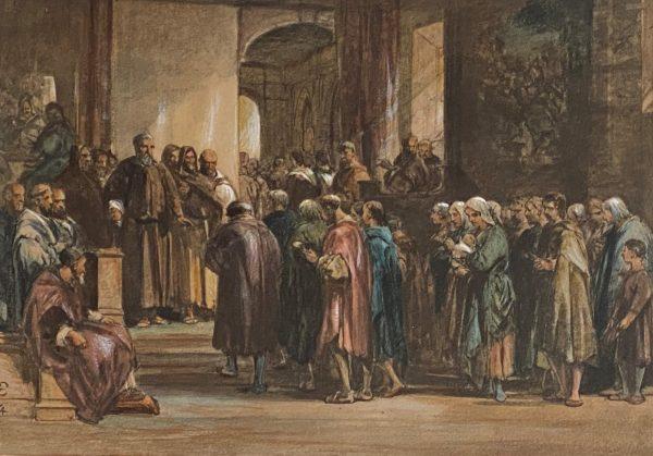 cattermole scene of monastic life