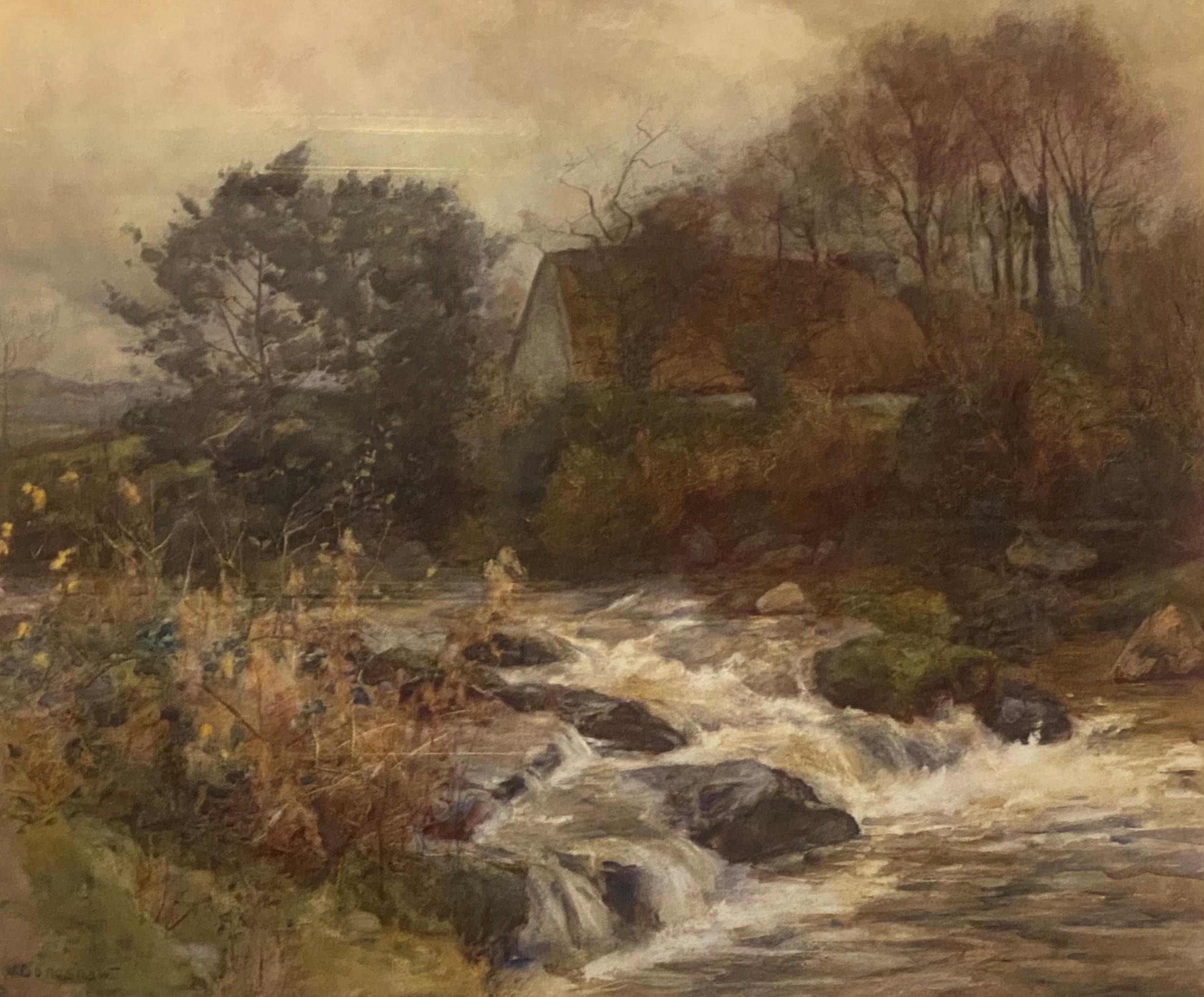 Frank William Longshaw R.C.A (1864-1914)